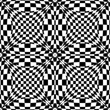 Optical Circles by Lisann