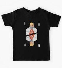 EOS Cryptocurrency King Kids Tee