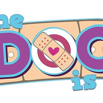 The Doc Is In by graphicloveshop