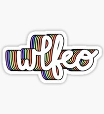 WLFEO - We Live for Each Other Sticker