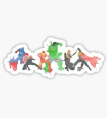 Superheros Sticker