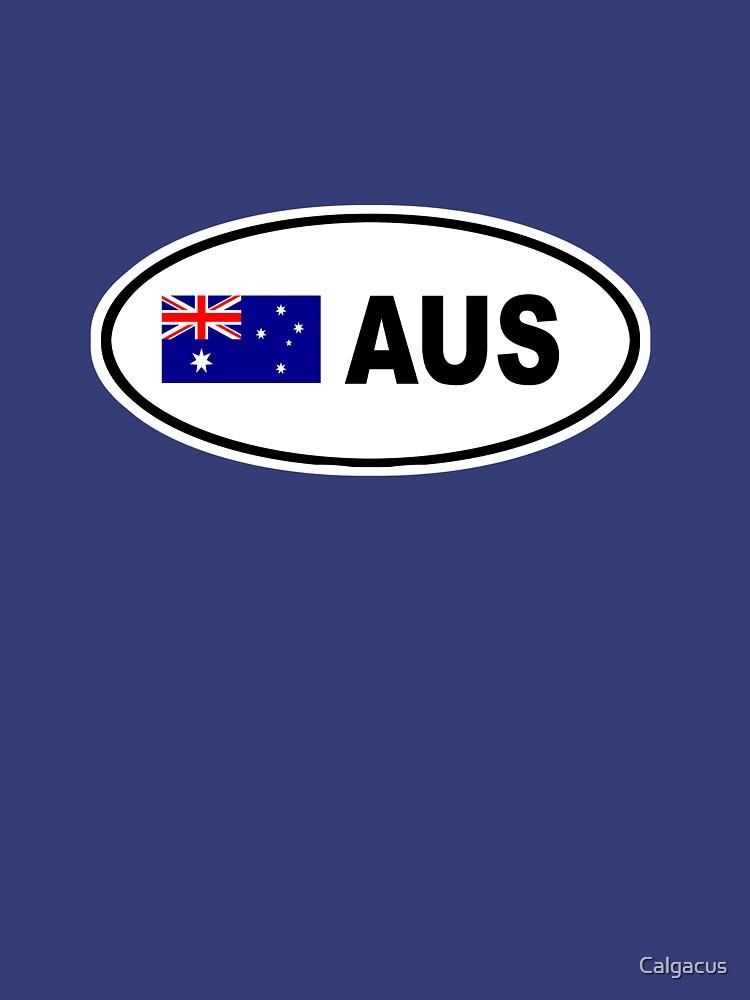 AUSTRALIA BUMPER STICKER  by Calgacus