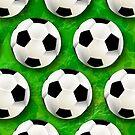 Soccer Ball Football Pattern by BluedarkArt
