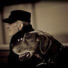 A dogs best friend by David Petranker