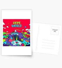 MUSIC BTS J HOPE / HOPE WORLD HIXTAPE Postcards