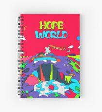 MUSIC BTS J HOPE / HOPE WORLD HIXTAPE Spiral Notebook