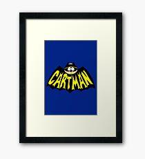 Cartman 1960's Logo Mashup Framed Print