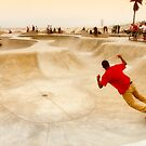 Venice Beach Skateboarders by Kasia-D