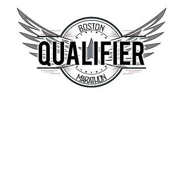 Boston Marathon 2019 Qualifier Shirt by LuckyU-Design