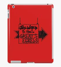 Great Egress iPad Case/Skin