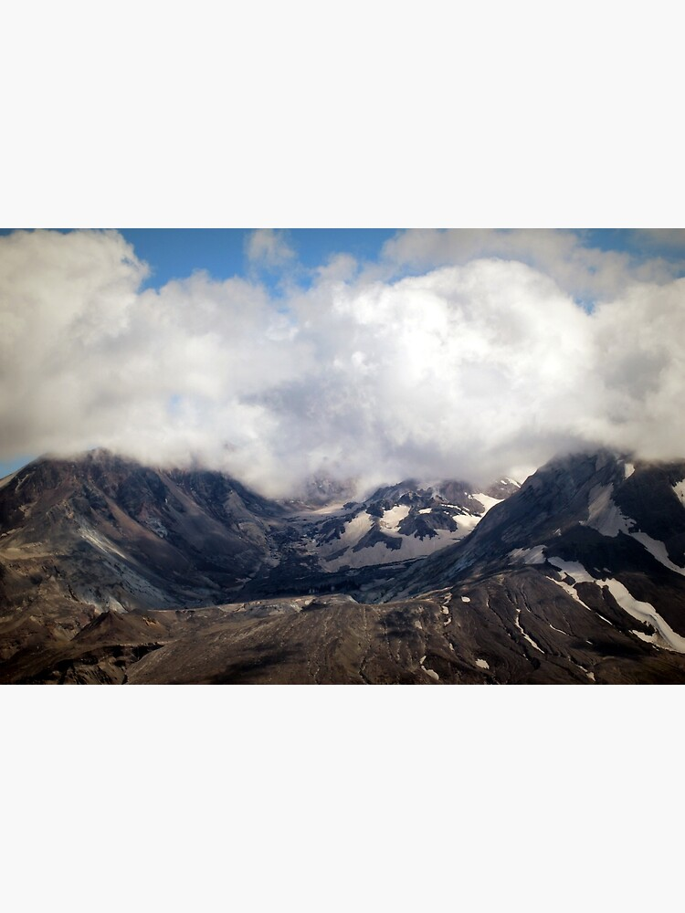 Mount St Helens lava dome by DlmtleArt