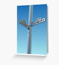 Haight-Ashbury Greeting Card