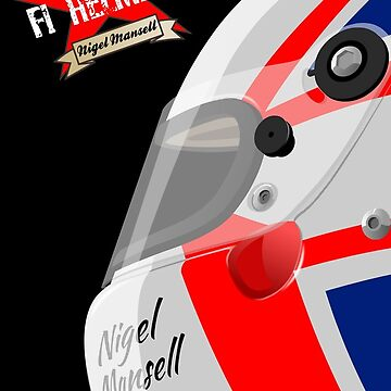 NIGEL MANSELL CLASSIC HELMET by Cirebox