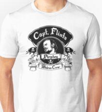 Captain Flints Pirates - Walrus Crew T-Shirt