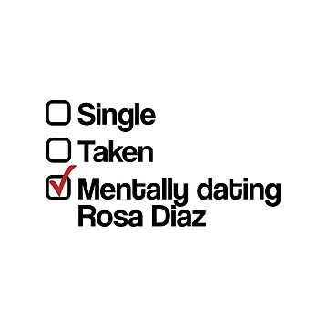 Mentally dating Rosa Diaz by domiellis