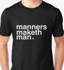 Kingsman: Manners Maketh Man Unisex T-Shirt