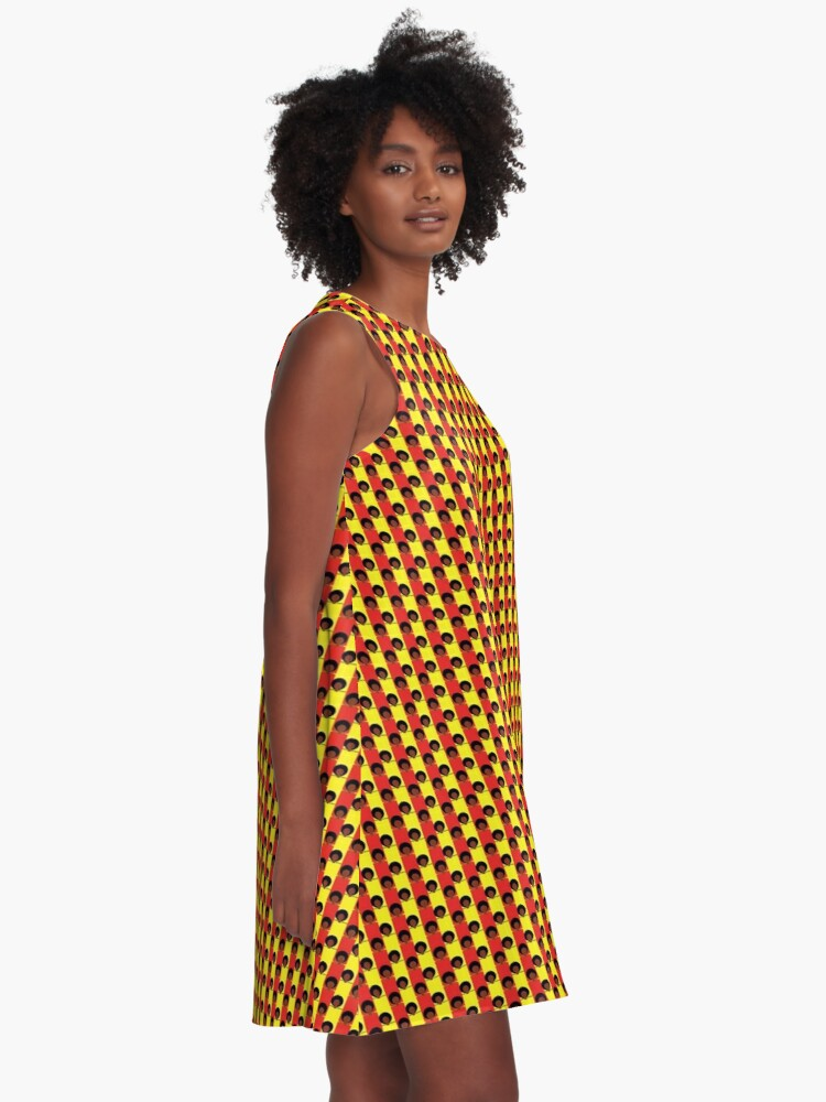 Alternate view of Pan-Afro1 A-Line Dress