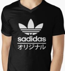 Sadidas Men's V-Neck T-Shirt