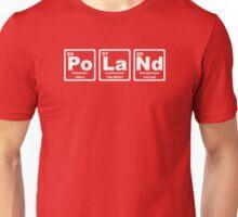 Poland - Periodic Table Unisex T-Shirt