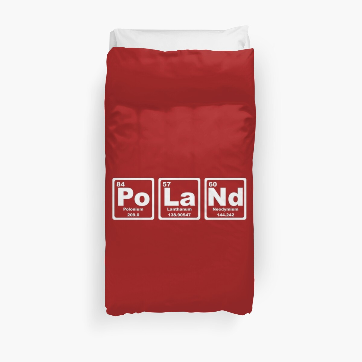 Poland periodic table duvet covers by graphix redbubble poland periodic table by graphix urtaz Image collections