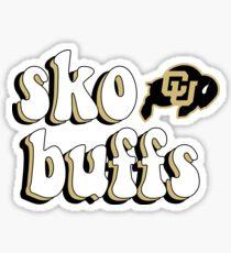 Sko Buffs University of Colorado Sticker