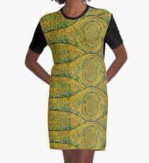 Springtime Graphic T-Shirt Dress