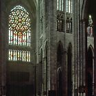 North Transept C16 Cathedral Beauvais France 19840827 0018  by Fred Mitchell