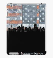 San francisco skyline flag iPad Case/Skin