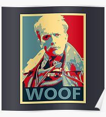Póster Lord Flashheart 'Woof' Design