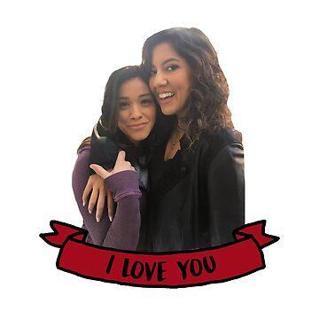 Stephanie Beatriz & Gina Rodriguez by domiellis