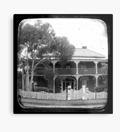 Country House Through The Viewfinder (TTV) Metal Print