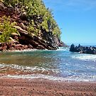 Red Sands Beach Hana by Angelina Hills