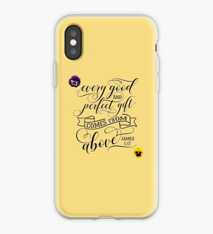 James 1:17 iPhone Case