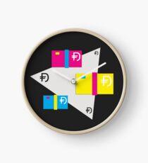 Dawsh Stacks (light) Clock