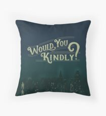 Would You Kindly Floor Pillow