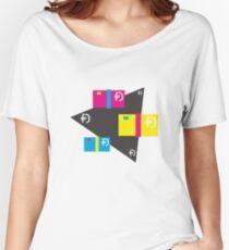 Dawsh Stacks (dark) Women's Relaxed Fit T-Shirt