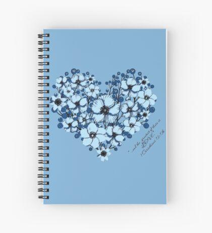 1 Corinthians 13:13b Spiral Notebook