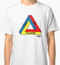 """Peace Love & Positivity"" - Logic quote Classic T-Shirt"