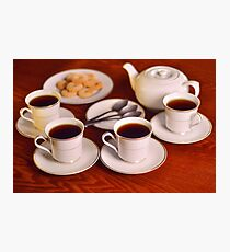 Tea with friends  Photographic Print