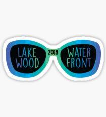 Lakewood Waterfront Brille Sticker