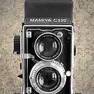 Mamiya C220 - Vintage Black and White by RetroArtFactory