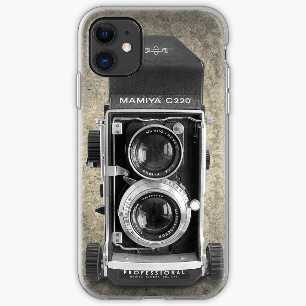 Mamiya C220 - Vintage Black and White iPhone Case & Cover