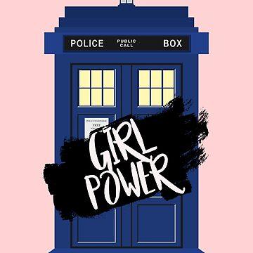 Girl Power Tardis {Doctor Who} by SophieDePablo