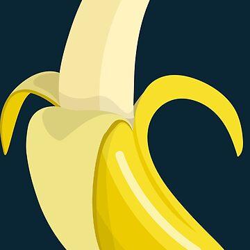 Banana Vector Art by 205Croissants