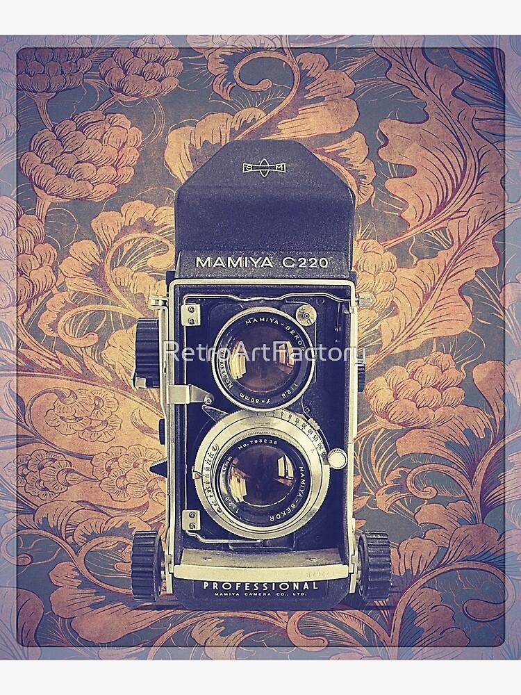 Mamiya C220 - Vintage Color by RetroArtFactory