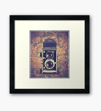 Mamiya C220 - Vintage Color Framed Print