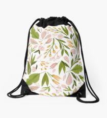 Blossoms Drawstring Bag