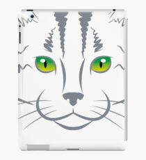 CAT LOVE VECTOR iPad Case/Skin