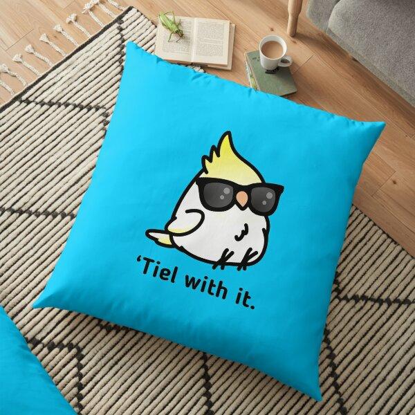 Tiel with it Floor Pillow