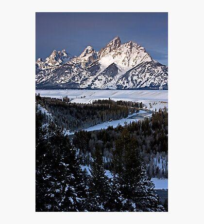 Snake River Overlook, Jackson Hole, Wyoming Photographic Print
